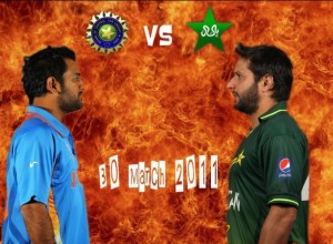 Pakistan Vs India 1st Semi Final ODI 2011 ICC World Cup Match